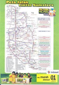 Peta JALINSUM INDOSAT Mudah Mudik 2009 asli + Mulyadi